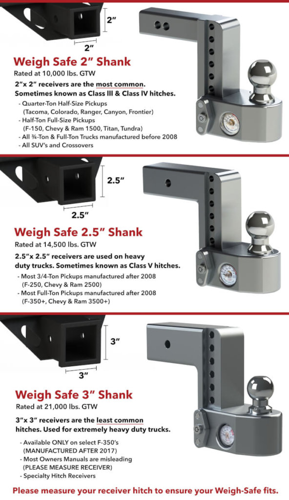 weigh safe draw bars