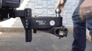 Towing with a Weight Distribution Hitch