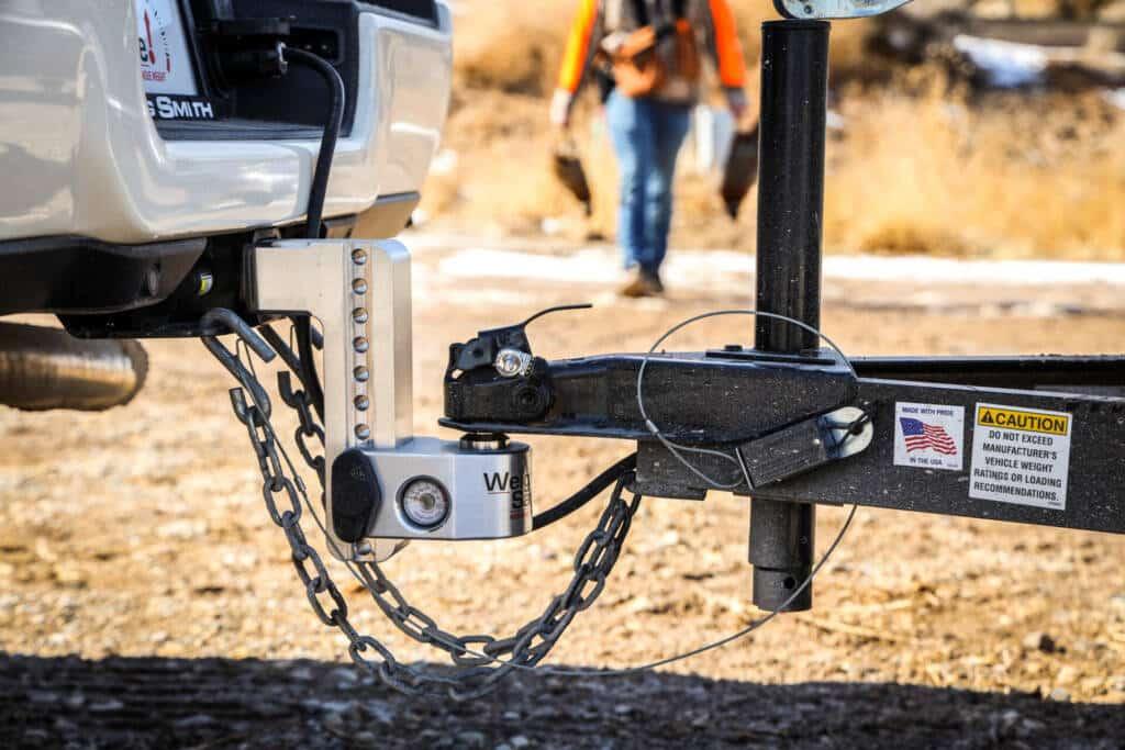 Weigh Safe trailer ball hitch