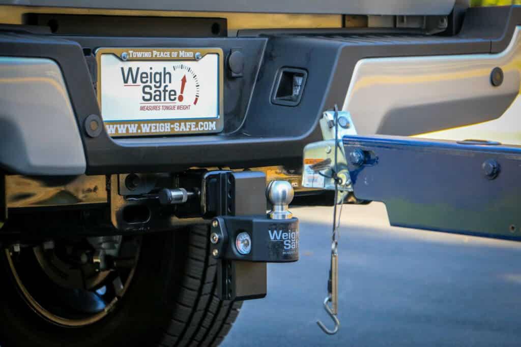 Weigh Safe trailer hitch
