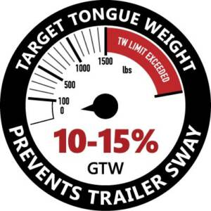 target tongue weight for trailers