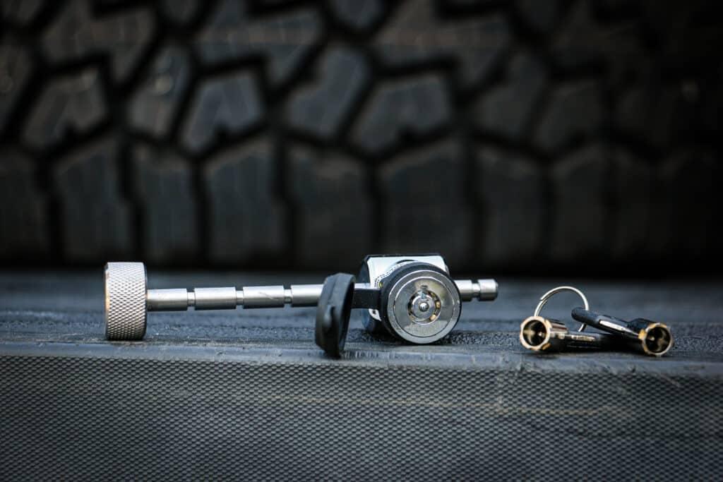 adjustable trailer coupler latch lock - Weigh Safe locking accessories