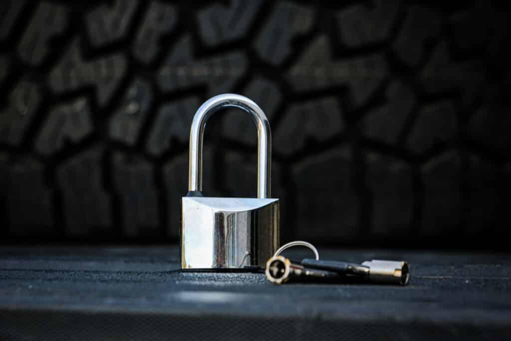 padlock - Weigh Safe locking accessories