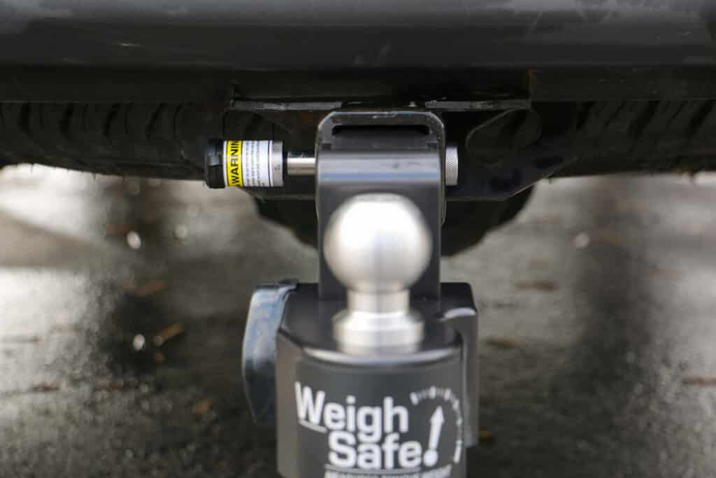 Weigh Safe hitch locking pin