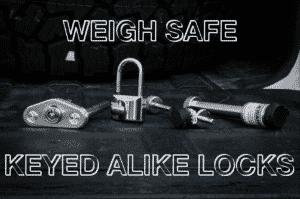 Weigh Safe locking accessories